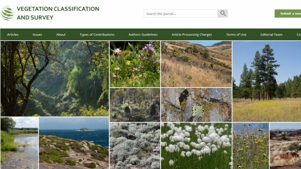 Vegetation Classification and Survey